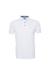 Pánské polo triko casual , barva bílá