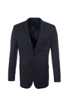 Pánské oblekové sako formal, barva šedá