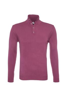 Pánský svetr casual , barva červená