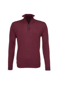 Pánský svetr informal , barva vínová