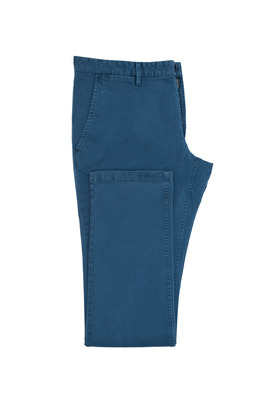 Pánské kalhoty  casual , barva modrá