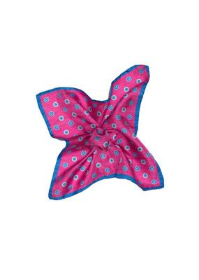 Kapesníček formal , barva růžová