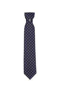Kravata formal , barva modrá, červená
