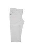 Pánské kalhoty  informal , barva bílá
