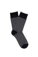 Ponožky  , barva černá, šedá