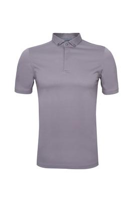 Pánské polo triko informal , barva světle hnědá