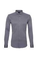 Pánská košile informal , barva hnědá