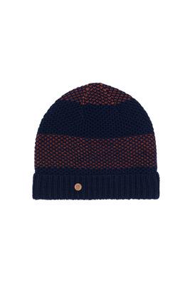Pánská čepice  , barva modrá