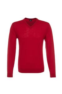 Pánský svetr formal , barva červená