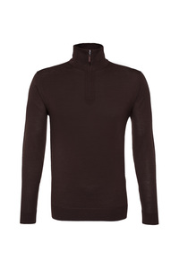 Pánský svetr informal , barva hnědá