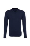 Pánský svetr formal , barva modrá