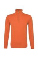 Pánský svetr  , barva oranžová