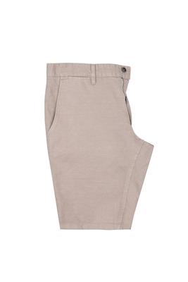 Pánské krátké kalhoty  casual , barva hnědá