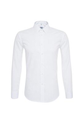 Pánská košile formal , barva bílá