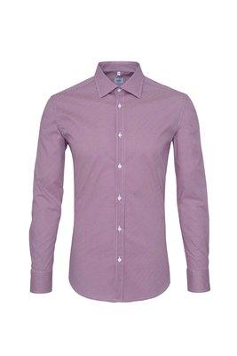 Pánská košile informal , barva červená