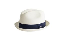 Pánský klobouk informal , barva bílá