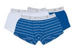 3pack-boxerky informal , barva modrá, bílá
