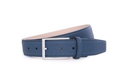 Pánský opasek formal , barva modrá