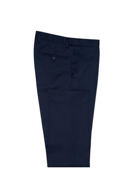 Pánské oblekové kalhoty Ceremony , barva modrá