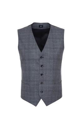 Pánská obleková vesta formal , barva šedá