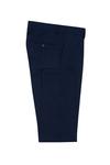 Pánské oblekové kalhoty formal , barva modrá