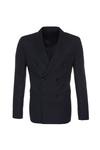 Pánské oblekové sako formal , barva tmavě modrá