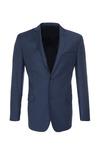Pánské oblekové sako formal , barva modrá