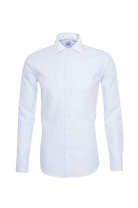 Pánská košile informal , barva bílá, modrá