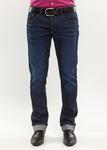 Pánské kalhoty  city slim, barva modrá