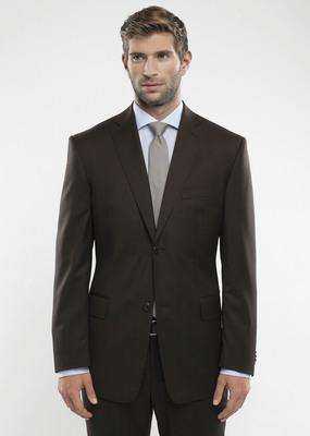 Pánské sako formal regular, barva hnědá