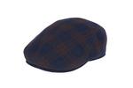 Pánská čepice  , barva hnědá, modrá