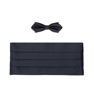 Set pás+motýlek Ceremony , barva černá