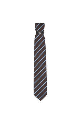 Kravata informal , barva hnědá