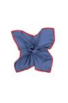 Kapesníček formal , barva modrá, červená