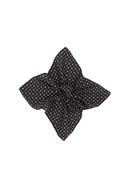 Kapesníček informal , barva černá