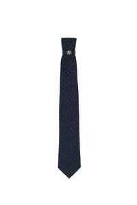 Kravata informal , barva šedá, modrá