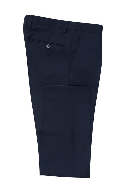 Pánské oblekové kalhoty formal , barva černá