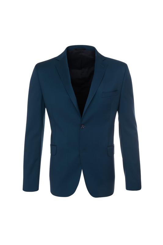 Pánské oblekové sako formal , barva tyrkysová