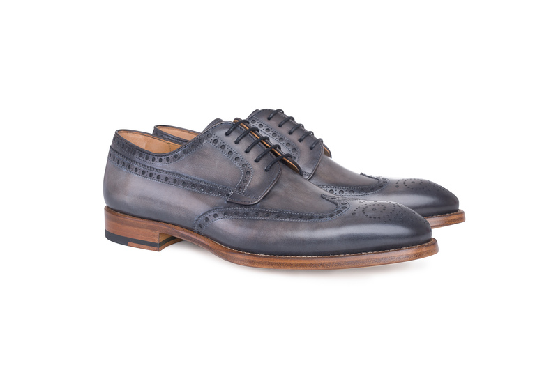 Pánská módní obuv informal , barva šedá