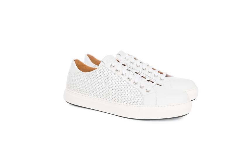 Pánská módní obuv jeans , barva bílá