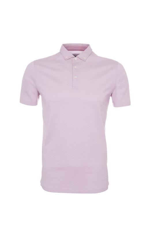 Pánské polo triko informal , barva růžová