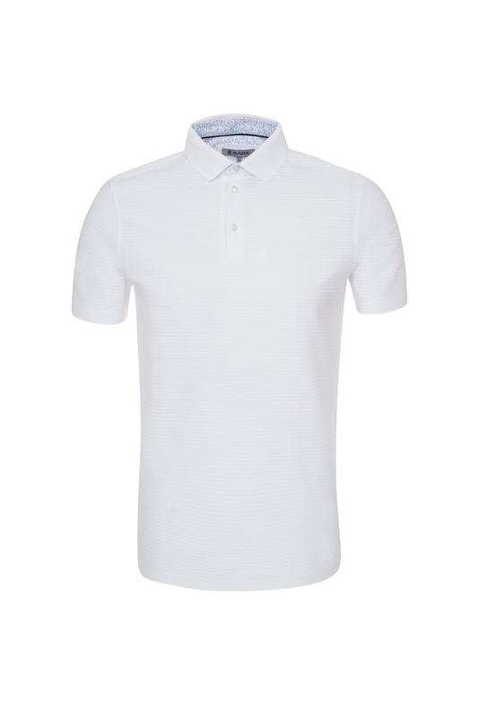 Pánské polo triko informal , barva bílá