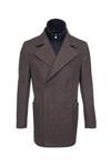 Pánský plášť informal , barva hnědá