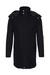 Pánský plášť informal , barva černá