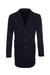 Pánský plášť formal , barva modrá