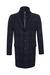 Pánský plášť casual , barva šedá, modrá