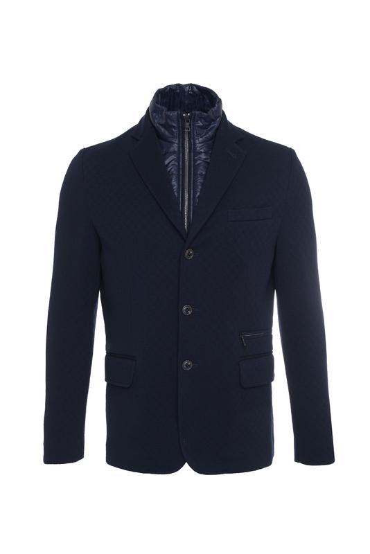 Pánská bunda casual , barva modrá