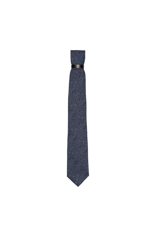 Kravata informal , barva modrá