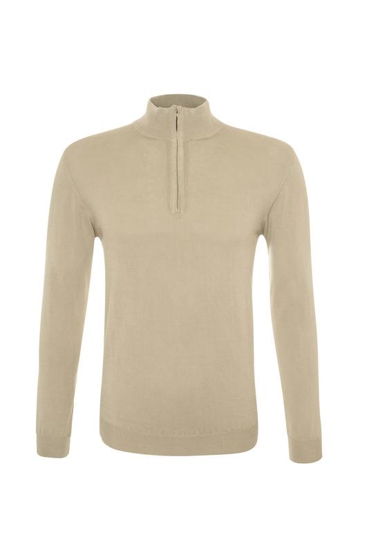 Pánský svetr casual , barva béžová