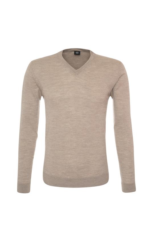 Pánský svetr informal , barva béžová